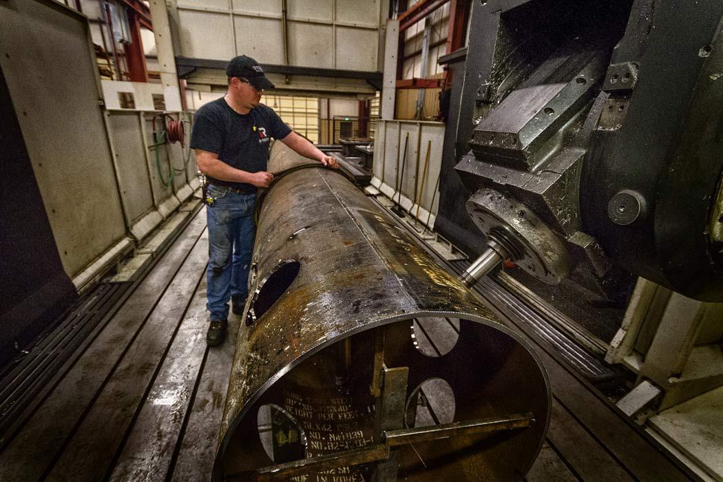 Mazak Versatech V-140N Bridge Mill - Large Parts Manufacturing